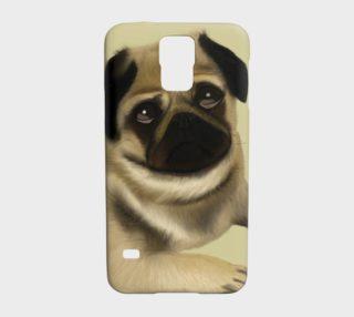 Pug Love Samsung Galaxy S5 Case preview
