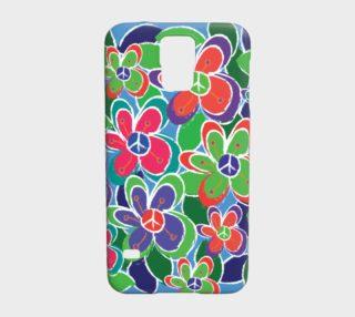 Aperçu de Case. garden collection. peace and love