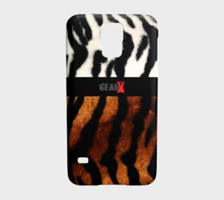 Aperçu de Tiger Fur Galaxy S5 Case by GearX