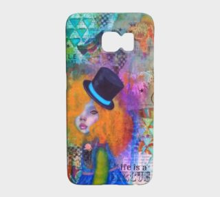Life is a Circus - Galaxy 6S Phone Case by Danita Lyn preview