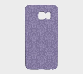 Tone on Tone Purple Damask preview