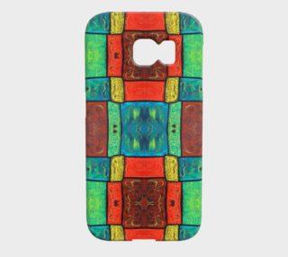 Coney Island Mosaic Galaxy S6 Edge preview