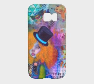 Life is a Circus - Galaxy 6 Edge Phone Case by Danita Lyn preview