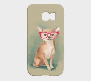 Chihuahua wearing glasses  preview