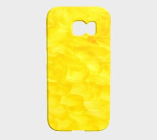 Sunshine Yellow Galaxy Phone Case preview