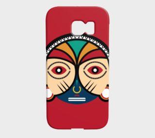 Aperçu de Round Tribal Mask