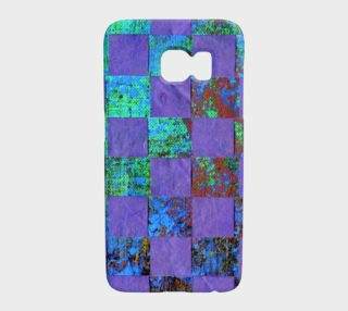 Purple Paper Weaving Galaxy Phone Case preview