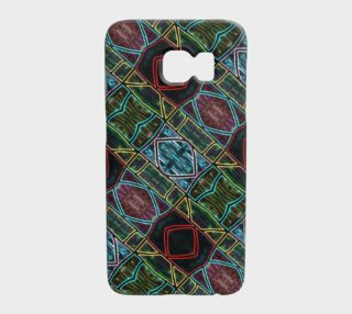 Diamond Sarape Stained Glass Galaxy S7 preview