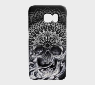 skull 3rd eye mandala Galaxy S7 case by Dustin Zane Poole preview