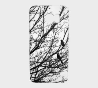 Black Birds Galaxy S7 Case preview