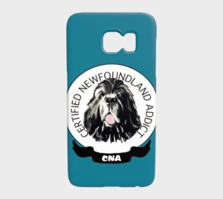 newf addict phone case preview