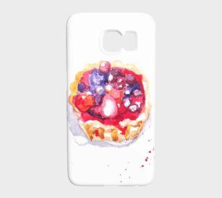 Aperçu de Red berries Galaxy S7 Case