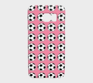 Soccer Balls on Pink preview