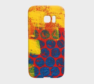 Playing With My Paint Galaxy Phone Case preview
