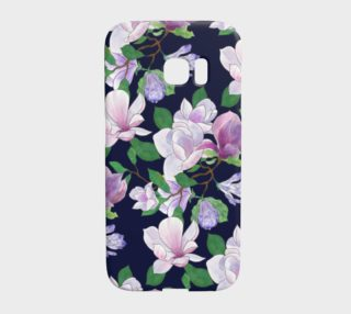 Magnolia Floral Frenzy Samsung Phone Cover preview
