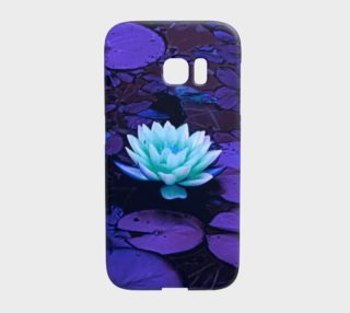 Lotus Flower Purple Turquoise preview