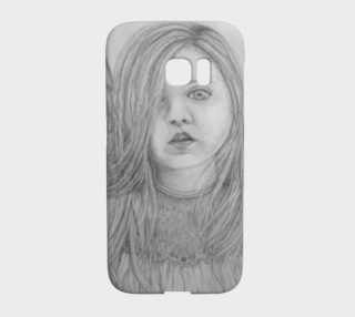 Angel Eyes - Galaxy S7 Edge Phone Case aperçu