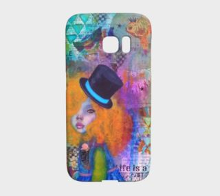 Life is a Circus - Galaxy S7 Edge Phone Case by Danita Lyn preview