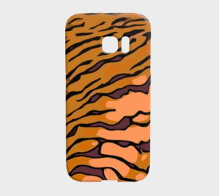 Tiger Print Galaxy S7 Edge Case  preview