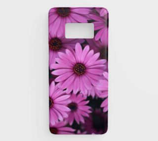 Pericallis Purple Flower Samsung Galaxy S8 Phone Case aperçu