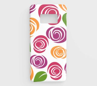 Abstract Roses Samsung Galaxy S8 Phone Case aperçu