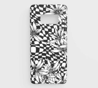 Harlequin Checkered Floral Galaxy S8 preview