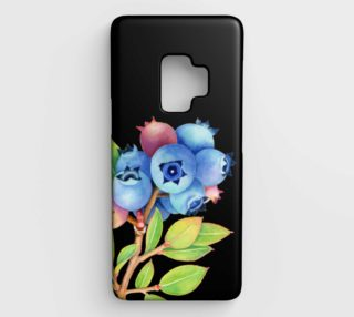 Maine Blueberries Samsung Galaxy S9 Case preview