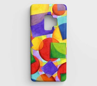 Candy Rainbow Plaid Samsung S9 Case preview