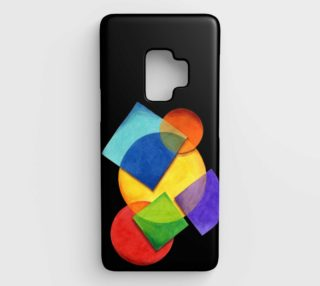 Candy Rainbow Motif Samsung S9 Case preview