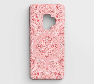 Pink Paisley Samsung S9 Case preview