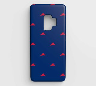 Martha's Vineyard - Red on Blue preview