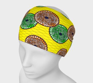 yellow kente headband preview