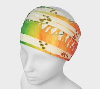 Rainbow paint headband $15 preview