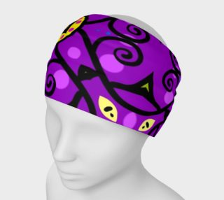 Purple and Gold Headband preview