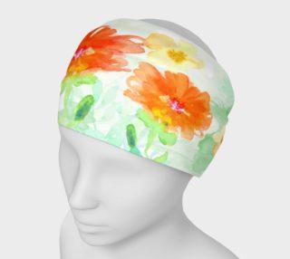 Aperçu de Coral Floral Headband by Deloresart