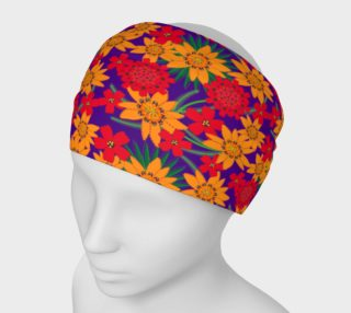 Gazania Purple Headband preview