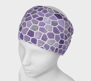 Aperçu de Lavender Faux Mosaic