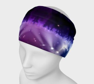 Purple and Blue Burst Headband preview