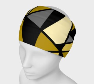 Modern Geometric in Yellow, Gray and Black preview