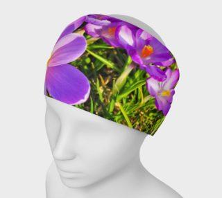 Purple Spring Crocus Headband preview