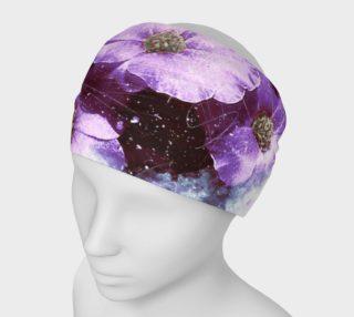 Six Purple Flowers Headband preview