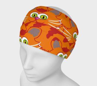 Orange Tabby Attack Headband preview