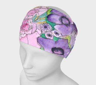 Aperçu de Peony & Poppy Headband