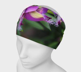 Purple Myrtle Finial Flower Headband preview