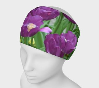 Purple Tulips Forever Headband preview