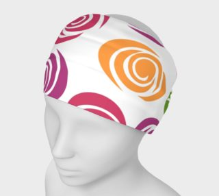 Abstract Roses Headband preview