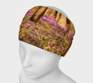 Forest with Purple Flowers Headband preview