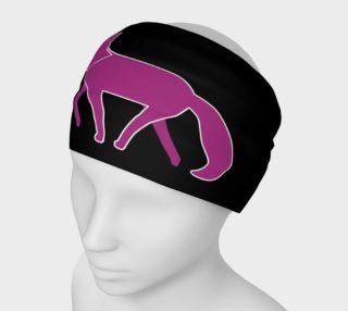 Fox Purple Silhouette Headband preview