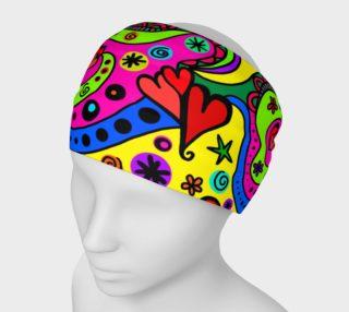 Fun Heart Pattern Headband preview