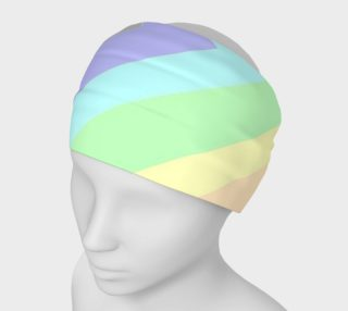 Muted Rainbow Chevron Headband preview